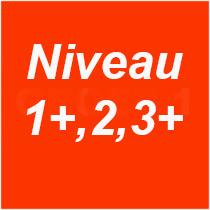 Niveau 1plus 2 en 3plus 29-07-2019